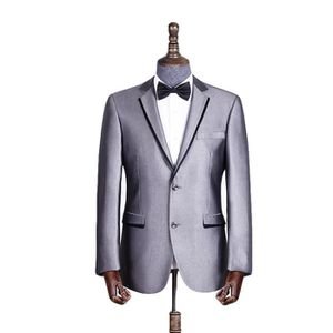 c32f33ea3345 COSTUME - TAILLEUR Costume Homme Coupe Droite 2 Boutons Gris Mariage