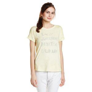 T-SHIRT Lee T-shirt imprimé graphique pour femme VDTHG Tai