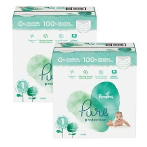COUCHE 105 Couches Pampers Pure Protection taille 1