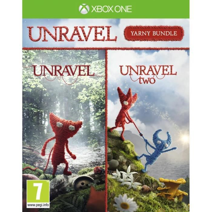 Pack Unravel jeu Xbox One