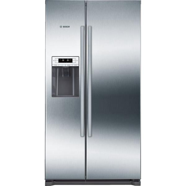 BOSCH KAD90VI30 Réfrigérateur américain-533 L (370 L + 151 L )-Froid ventilé-A++-L 91 x H 177 cm-Ino