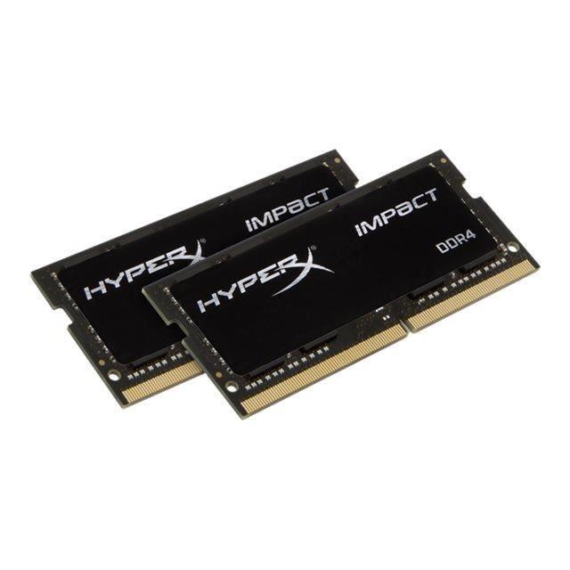 HYPERX Module de mémoire 16Go 2666MHz DDR4 CL15 SODIMM (Kit of 2) HyperX Impact