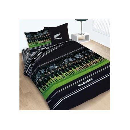 Housse De Couette All Blacks 200x200 2 Taies Achat Vente