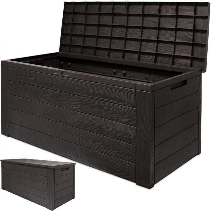 coffre de rangement plastique achat vente pas cher. Black Bedroom Furniture Sets. Home Design Ideas