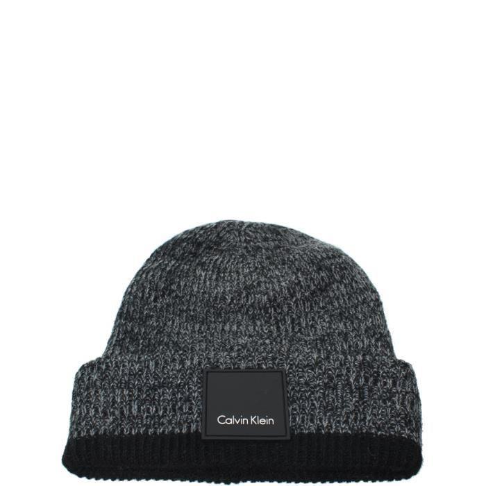 03cab8a97efb Bonnet Calvin Klein ref cem42467-noir-acier NOIR - Achat   Vente ...
