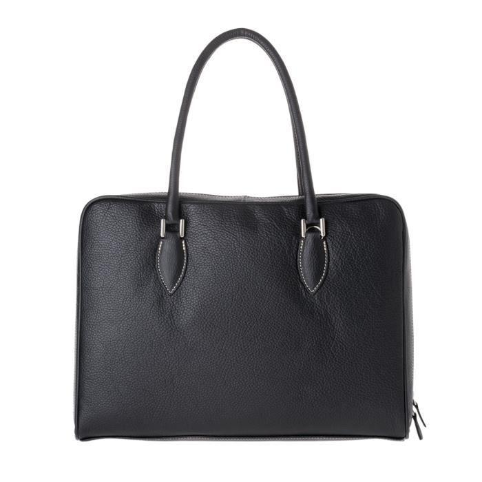 Dudu - Sac porté épaule - Dollaro - Petra - Noir - Femme