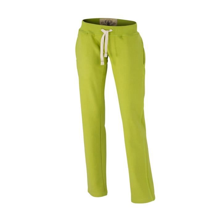 Jogging molleton femme achat vente pas cher - Pantalon coupe droite femme pas cher ...