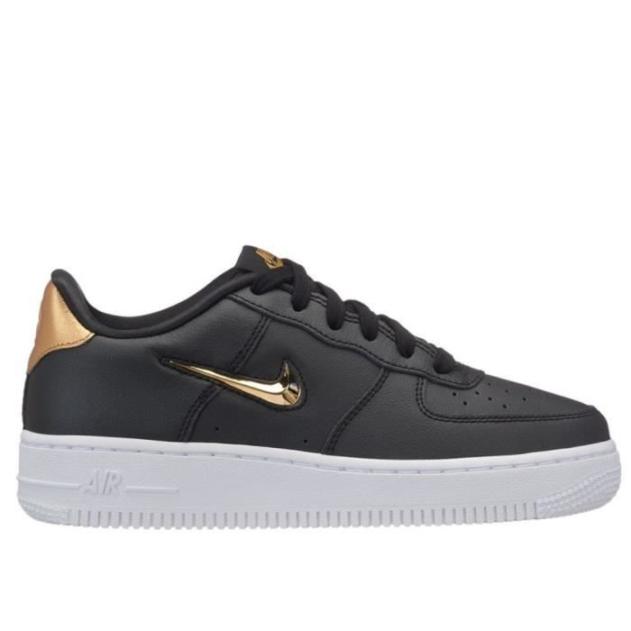 39aa853af66 Chaussures Nike Air Force 1 LV8 Leather Noir Noir - Achat   Vente ...