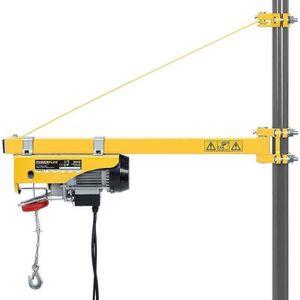 BATI SUPPORT Support de bras pivotant à 180 ° pour palan à câbl