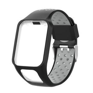 BRACELET DE MONTRE Remplacement bande Bracelet en silicone pour TomTo