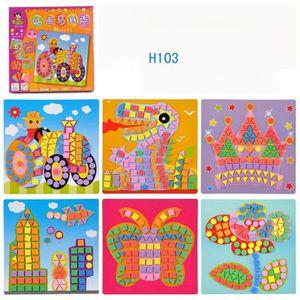 PUZZLE Amusant mosaïque enfants Art & Craft Kit jeu d'enf