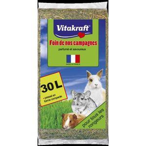 FOIN ET FOURRAGE VITAKRAFT Foin de nos campagnes - Pour rongeur - 3
