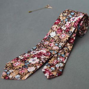 CRAVATE - NŒUD PAPILLON 2016 new vintage cravate floral pour adultes homme