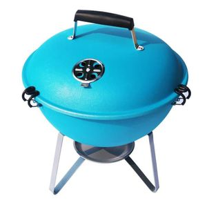 BARBECUE Barbecue boule charbon - Nomade -Turquoise
