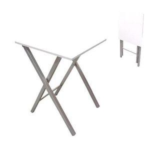 TABLE DE CUISINE  Table pliante, 48 cm, blanc