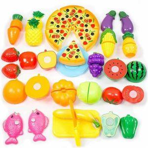 DINETTE - CUISINE Set de 24pcs jouet de cuisine pour enfants Maison