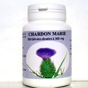 COMPLÉMENT MINCEUR Chardon-marie: gélules naturelles  dele chardon