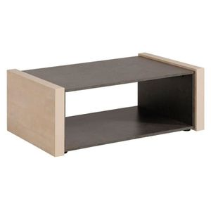 fabulous table basse table basse pin cendrbton cir willy with table beton cire pas cher. Black Bedroom Furniture Sets. Home Design Ideas