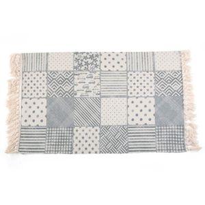 TAPIS tapis carreaux de ciment 60*180cm tapis tissé tapi