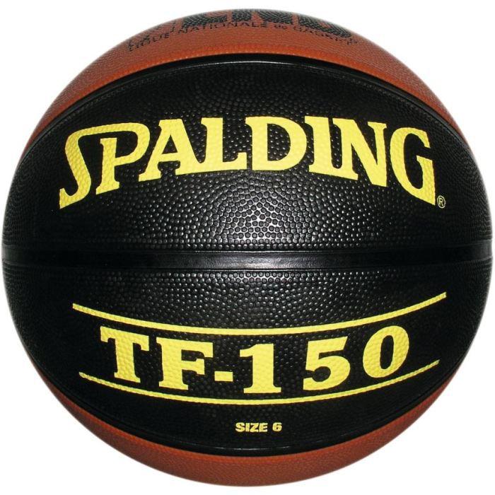 SPALDING Ballon de Basket Orange et Noir
