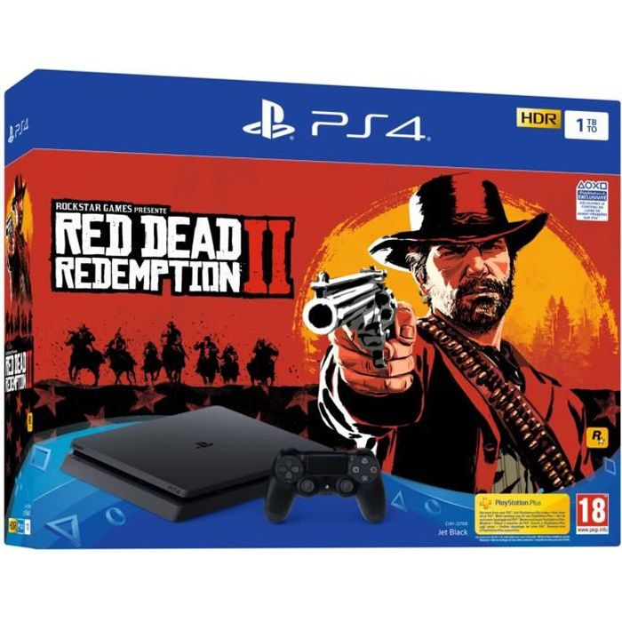 PS4 1 To Noire + Red Dead Redemption 2 Edition Standard