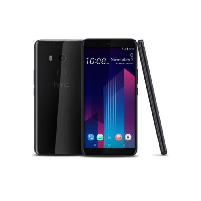 Téléphone portable HTC U11+ Dual Sim 128Go Noir Céramique