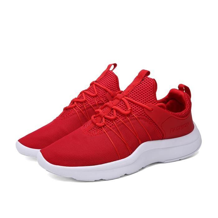 engrener Nouvelle chaussure sport style simple couleur chaussure de course homme - femme VlrZzBOgT