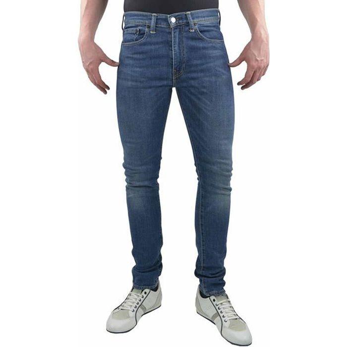 6018b9110356b Levi s Homme 519 Extreme Skinny Fit César Jeans, Bleu Bleu Bleu ...