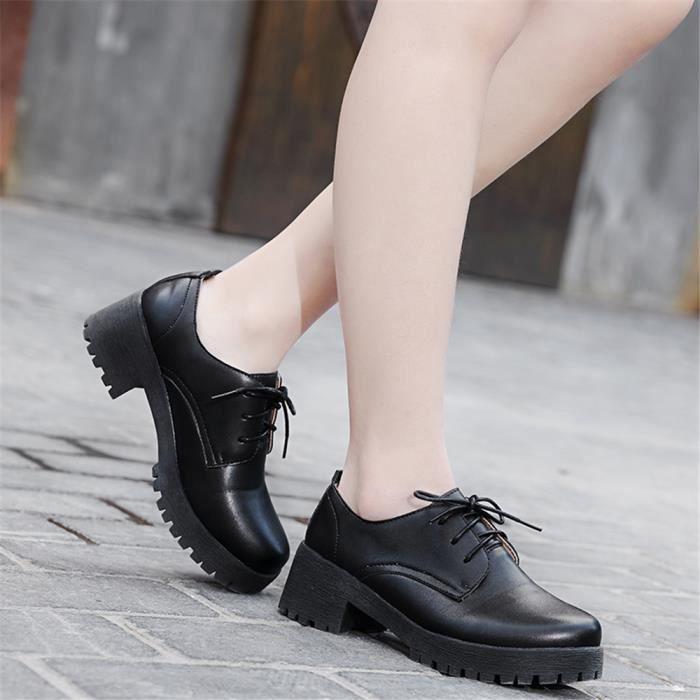 Arrivee Durable Exquis Femme Extravagant Moccasins Loafer Classique Antidérapant Nouvelle Chaussures marron Couleur Noir Plus blanc De 8ggBf7
