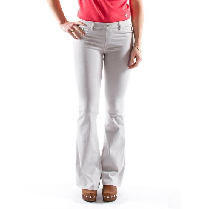 1d14c041ff6e9 Pantalon Femme - Gris clair - Carrera Jeans Gris clair - Achat ...