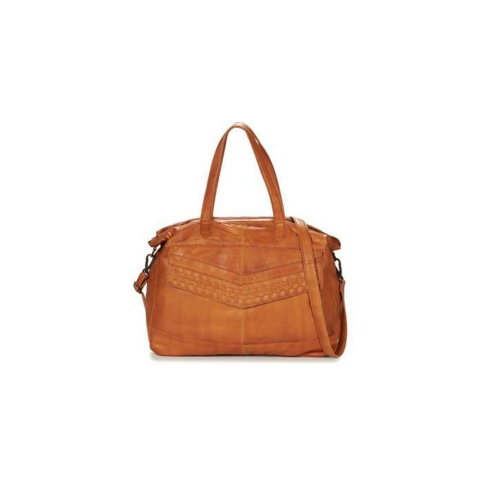 Sac Camel Cuir 17075148 Travel Bag Cabas Marron Pieces Jimini Cognac wOPZilkXTu