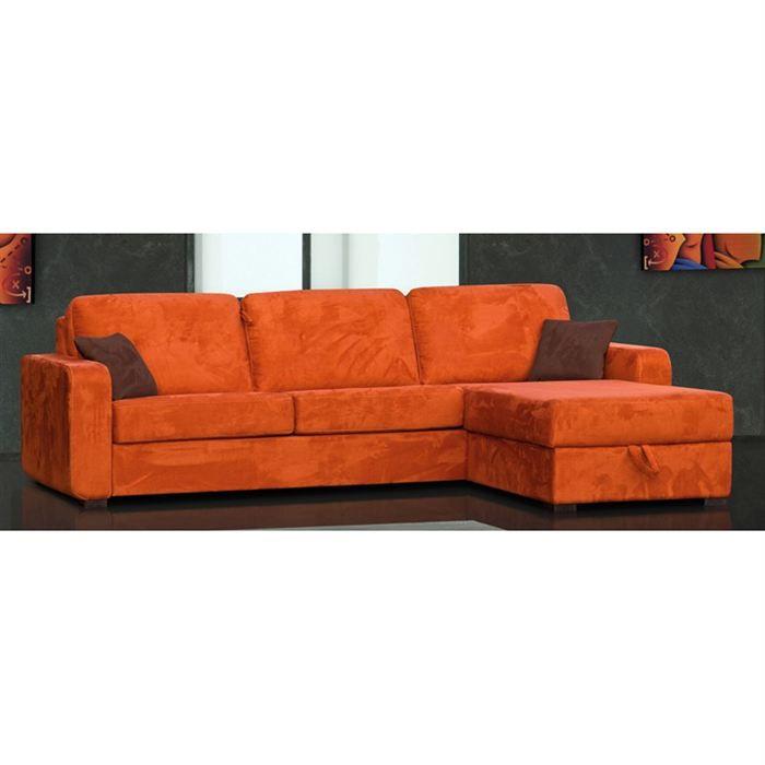 canap angle convertible en lit corner italien achat vente canap sofa divan cdiscount. Black Bedroom Furniture Sets. Home Design Ideas