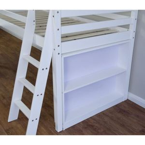 etagere pour lit mezzanine achat vente etagere pour lit mezzanine pas cher soldes d s le. Black Bedroom Furniture Sets. Home Design Ideas