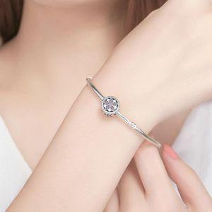 ... MAILLON DE BRACELET MERRILL® Charms Argent 925 Essence Rose Diamants C  ... 6ec6808be2eb