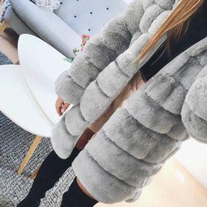... MANTEAU - CABAN mode, belle, chaude Femmes Mode Luxe Manteau en ... ce456ba0b598