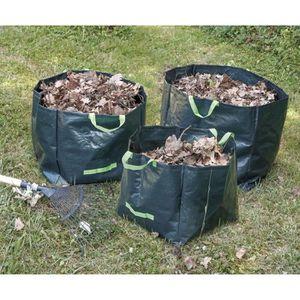 GREENGERS Lot de 3 sacs ? déchets végétaux 70/100/170 L