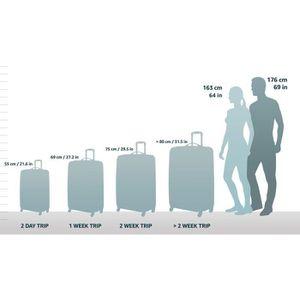VALISE - BAGAGE Bagage de Cabine Aerolite léger, Limite maximale a