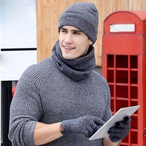 ECHARPE - FOULARD Homme Femme 3pc hiver doux tricot Bonnet écharpe G c1aa0e487e5