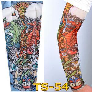 KIT TATOUAGE Bas de bras de manchon de tatouage temporaire unis