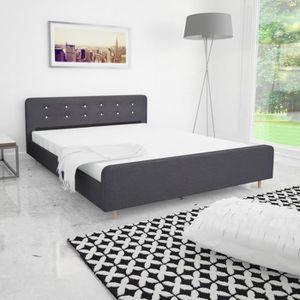 cadre de lit 160 achat vente pas cher. Black Bedroom Furniture Sets. Home Design Ideas