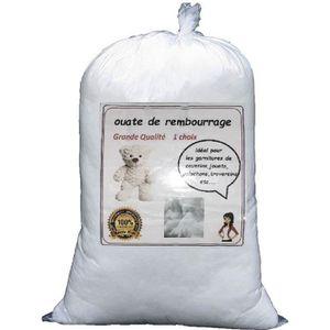 OUATE Ouate de rembourrage Douce et Gonflante sac de 1 k