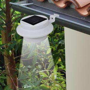 CLÔTURE - GRILLAGE Magnifique Lampe solaire 3 LED pour cloture / gout