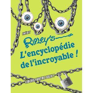 DOCUMENTAIRE ENFANT Livre - Ripley's ; l'encyclopédie de l'incroyable
