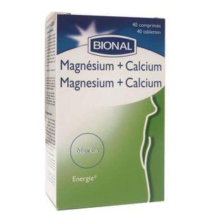 COMPLÉMENT ARTICULATION Bional. Magnésium + Calcium.40 Comprimés.