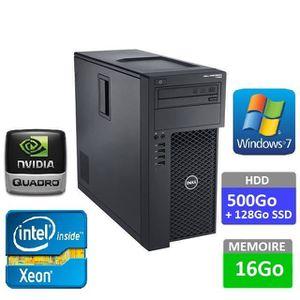 UNITÉ CENTRALE  UC DELL PRECISION T1650 - Intel Xeon E3-1270 v2 3.