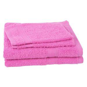 PARURE DE BAIN JULES CLARYSSE Lot de 2 serviettes + 2 gants de to
