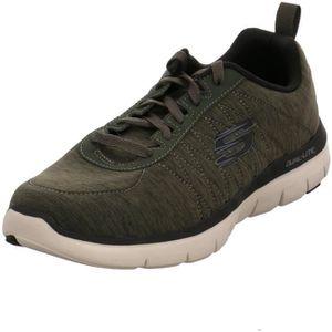 Skechers CHILLSTON 52186/OLV Adulte (Homme ou Femme) Chaussures de Sport, Vert 44 EU