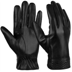 GANT - MITAINE Vbiger Gants en cuir PU chaud d écran tactile pour e3e29eb6bf7