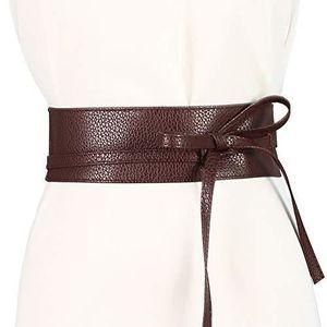 9cc529a00396 CEINTURE ET BOUCLE cravate souple en similicuir pour femme, ceinture ...