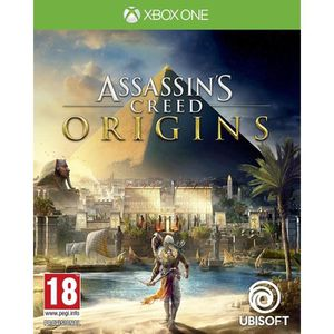 JEU XBOX ONE Assassin's Creed Origins Xbox One + 2 Thumbstick +